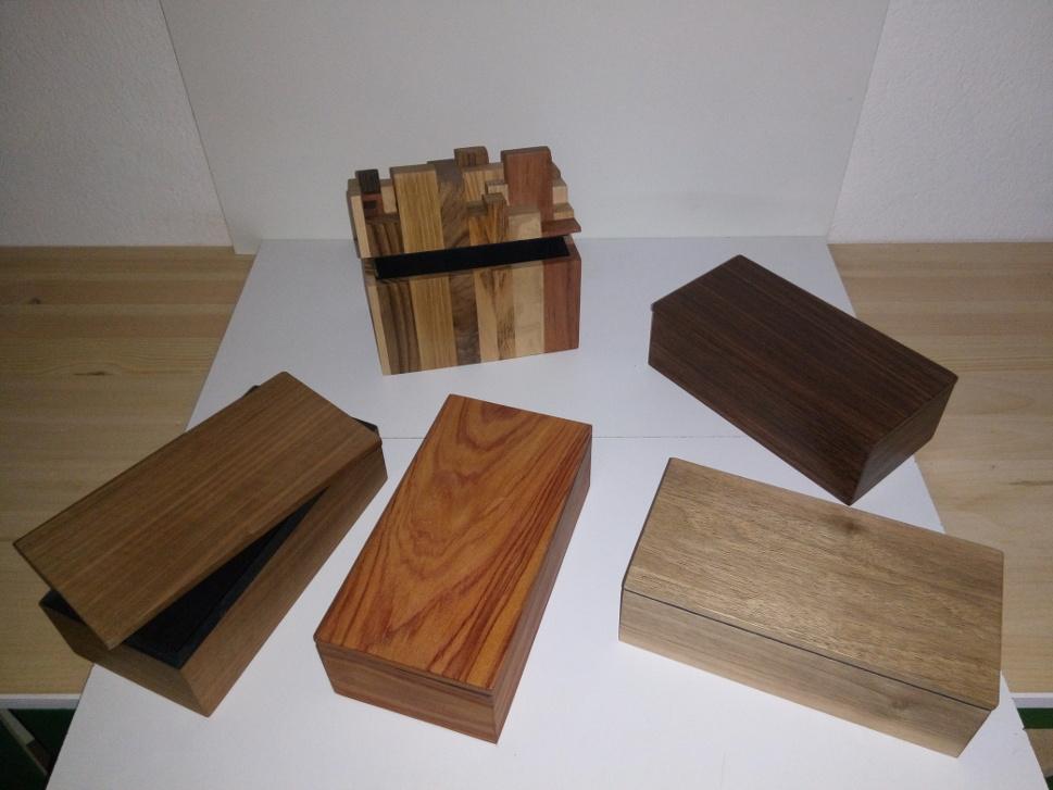 Petites boîtes